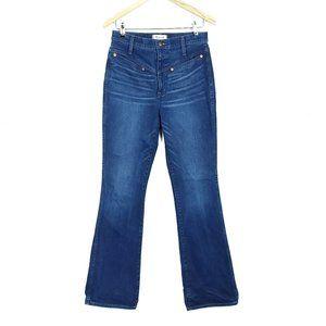 Madewell  Skinny Flare Bluffwood High Rise Jeans